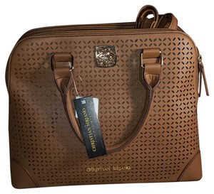 Christian Siriano Satchel in Brown