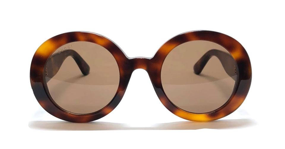 6d45b6c64df67 Gucci Tortoise Large Rounded Style Gg 0319s 002 - Free 3 Day Shipping Large  Sunglasses