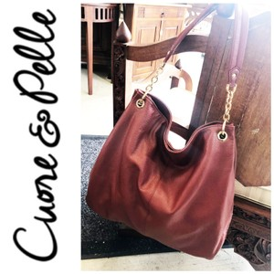 Cuore & Pelle Tote in red