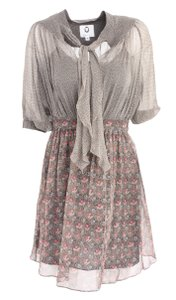 Mayle short dress Grey on Tradesy