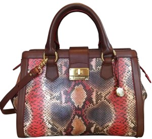 Brahmin Satchel in Multicolor
