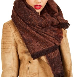 Modcloth Brown blanket scarf