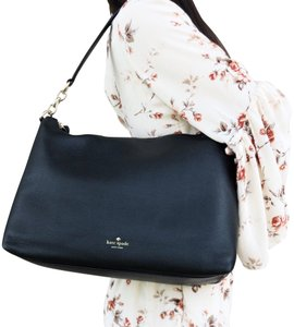 Kate Spade Crossbody Leather New Tote in Black