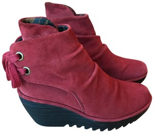FLY London Red Boots