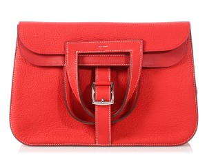 Hermès Tomato Clemence 31 Hr.p0906.16 Cross Body Bag