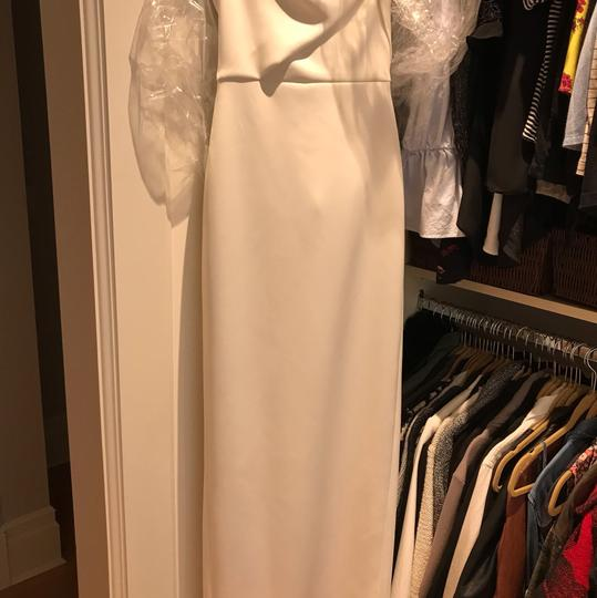 Black Halo White Divinia Casual Wedding Dress Size 0 (XS)