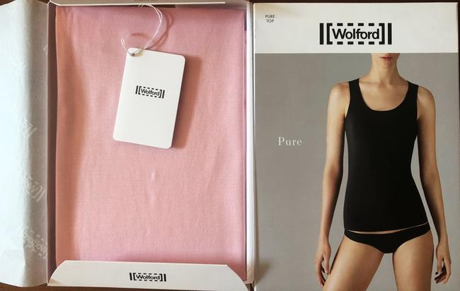 Wolford Summer Basic Top Pink Image 2