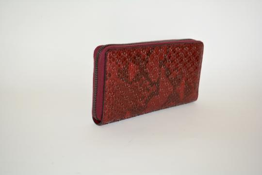Gucci NIB GUCCI PYTHON MICRO GG LEATHER WALLET MADE IN ITALY Image 2