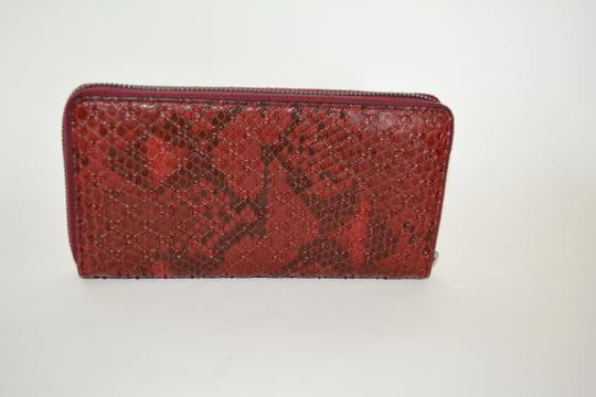 Gucci NIB GUCCI PYTHON MICRO GG LEATHER WALLET MADE IN ITALY Image 4