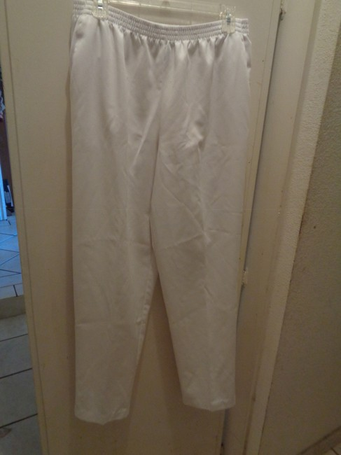 Alfred Dunner Straight Pants white Image 1