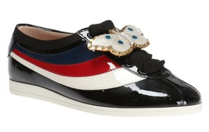 Gucci Black Falacer Butterfly Red