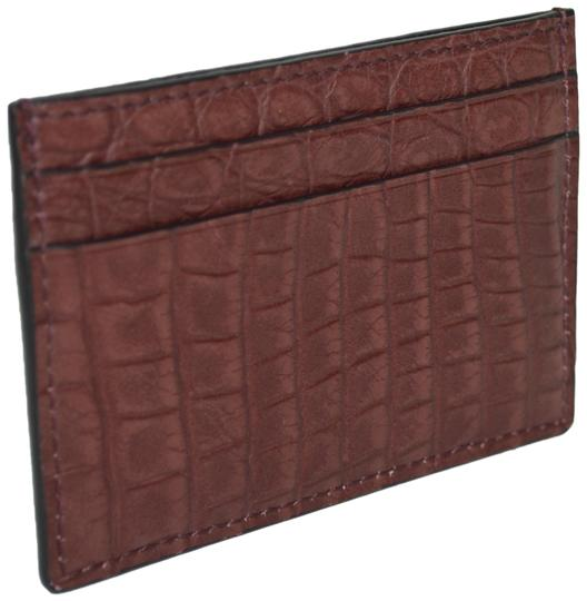 Preload https://img-static.tradesy.com/item/24187599/gucci-burgundy-crocodile-leather-card-case-made-in-italy-wallet-0-1-540-540.jpg