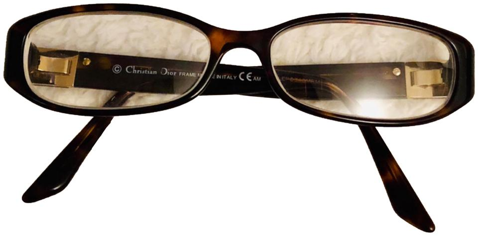 4f8f06c536 Dior Brown Tortoise Shell Glasses Sunglasses - Tradesy