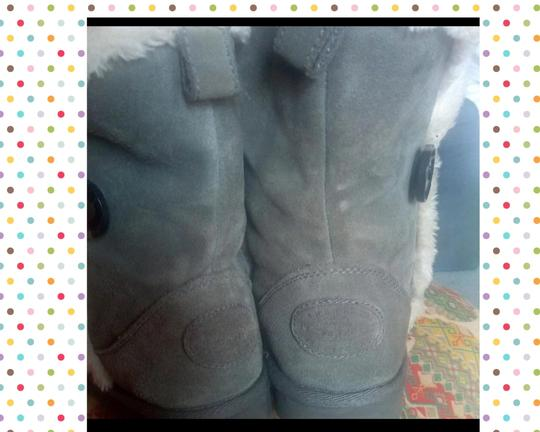 American Eagle Outfitters Winter Fall Suede Faux Leather Comfortable Gray Boots Image 2