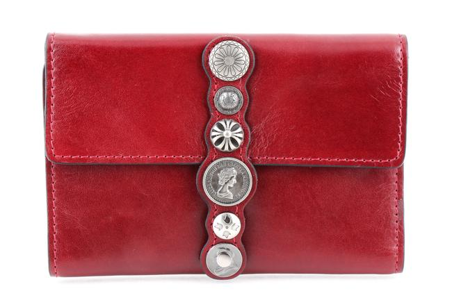Patricia Nash Designs Red Oxblood Leather Renaissance Coin Colli Flap Wallet Patricia Nash Designs Red Oxblood Leather Renaissance Coin Colli Flap Wallet Image 1