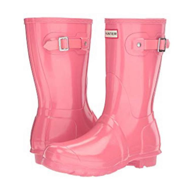 Hunter Pink Boots/Booties Size US 6 Regular (M, B) Hunter Pink Boots/Booties Size US 6 Regular (M, B) Image 1