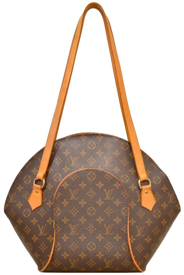 Louis Vuitton Ellipse Gm Handbag M51128 Brown Monogram Shoulder Bag ... 0ffefecd32613