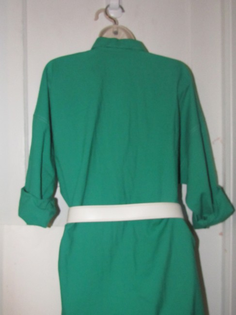 Oscar de la Renta Mint Vintage Day To Night Style Shirt Style Dress Image 10