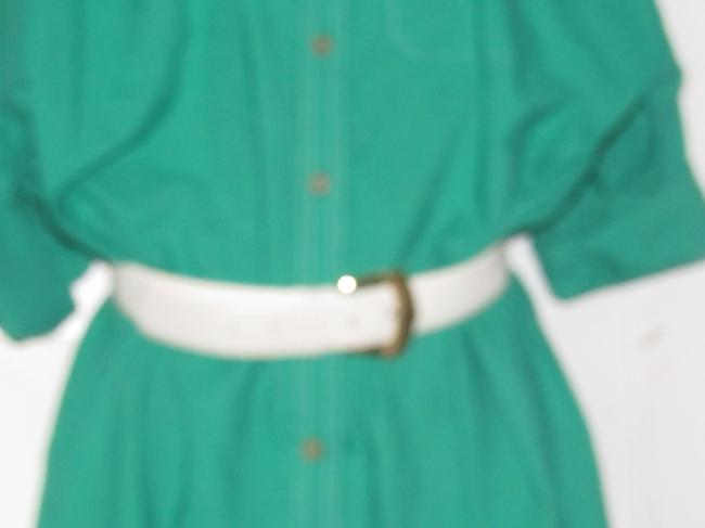 Oscar de la Renta Mint Vintage Day To Night Style Shirt Style Dress Image 5