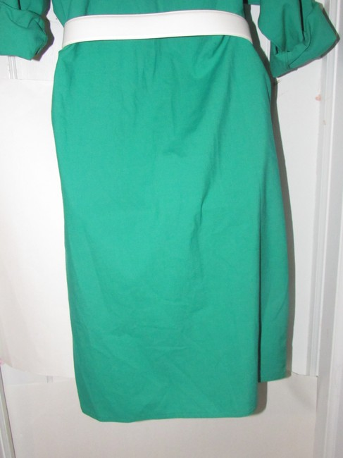 Oscar de la Renta Mint Vintage Day To Night Style Shirt Style Dress Image 8