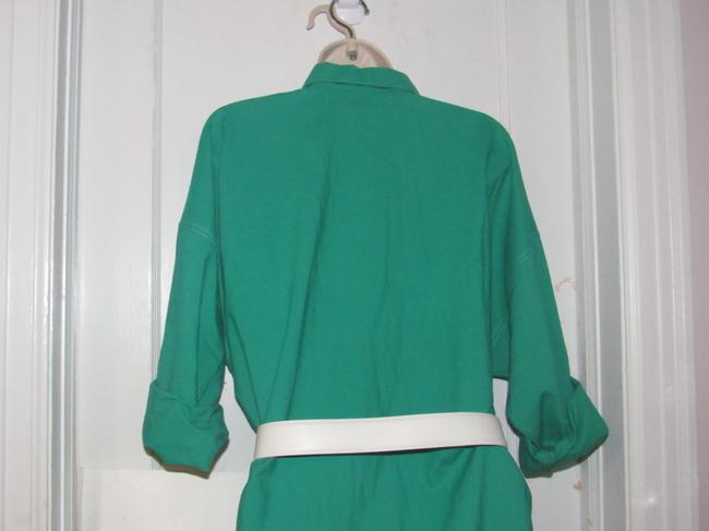 Oscar de la Renta Mint Vintage Day To Night Style Shirt Style Dress Image 9