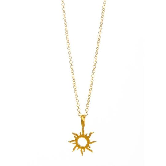 Fashion Jewelry For Everyone Gold Plated Korean Version Sun Clavicle Necklace Image 2