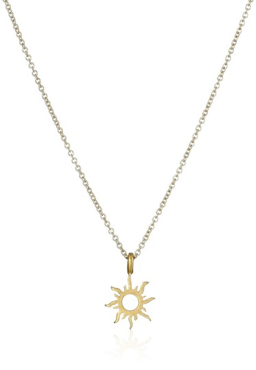 Fashion Jewelry For Everyone Gold Plated Korean Version Sun Clavicle Necklace Image 3