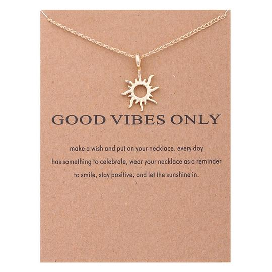 Fashion Jewelry For Everyone Gold Plated Korean Version Sun Clavicle Necklace Image 4