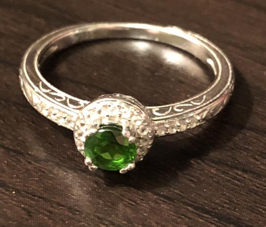 Gem Russian Chrome Diopside/White Topaz-SUPER RARE- Image 1