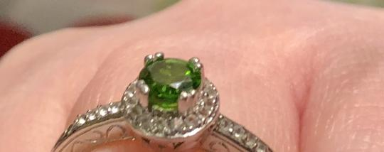 Gem Russian Chrome Diopside/White Topaz-SUPER RARE- Image 10
