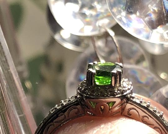 Gem Russian Chrome Diopside/White Topaz-SUPER RARE- Image 2