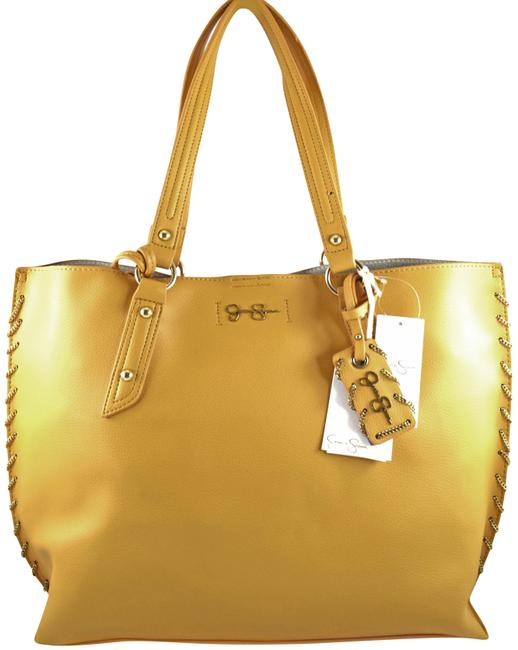 Item - Valerie Yellow Faux Leather Tote