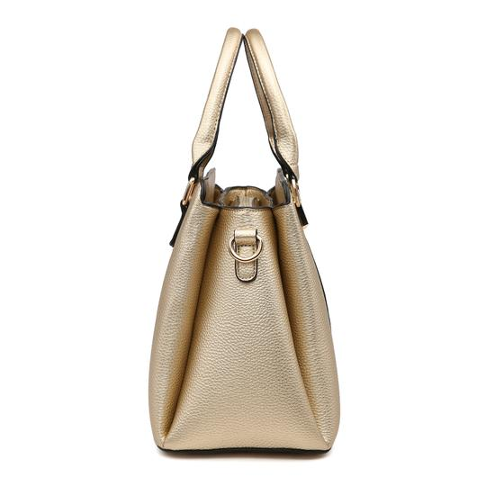 Dasein The Treasured Hippie Vintage Bags Designer Inspired Affordable Bags Large Handbags Satchel in Pink/White Image 1