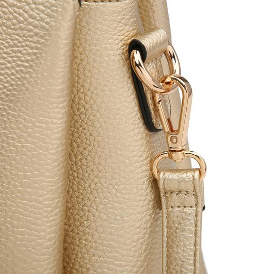 Dasein The Treasured Hippie Vintage Bags Designer Inspired Affordable Bags Large Handbags Satchel in Pink/White Image 6