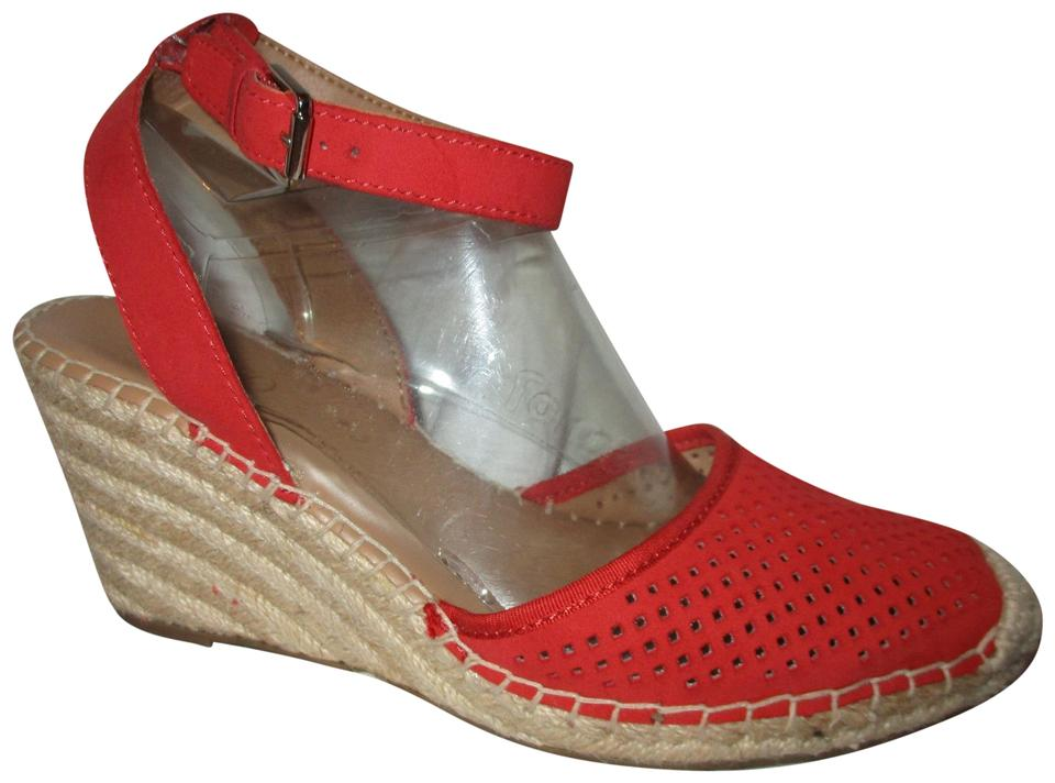 super popular shop new images of Franco Sarto Red