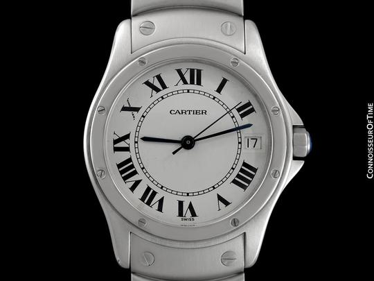 Cartier Cartier Santos Ronde Mens Watch, Automatic - Stainless Steel Image 2