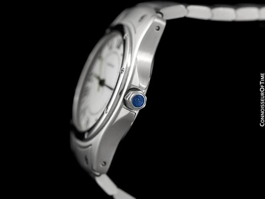 Cartier Cartier Santos Ronde Mens Watch, Automatic - Stainless Steel Image 4