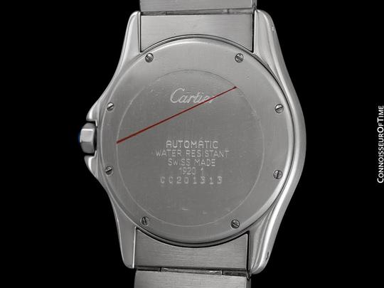 Cartier Cartier Santos Ronde Mens Watch, Automatic - Stainless Steel Image 6