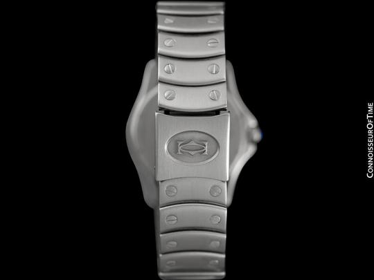 Cartier Cartier Santos Ronde Mens Watch, Automatic - Stainless Steel Image 7