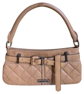 Burberry Clutches Quilted Leather Vintage Shoulder Bag