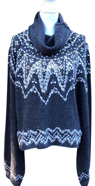 Free People Ob832454 Carbon Sweater Free People Ob832454 Carbon Sweater Image 1