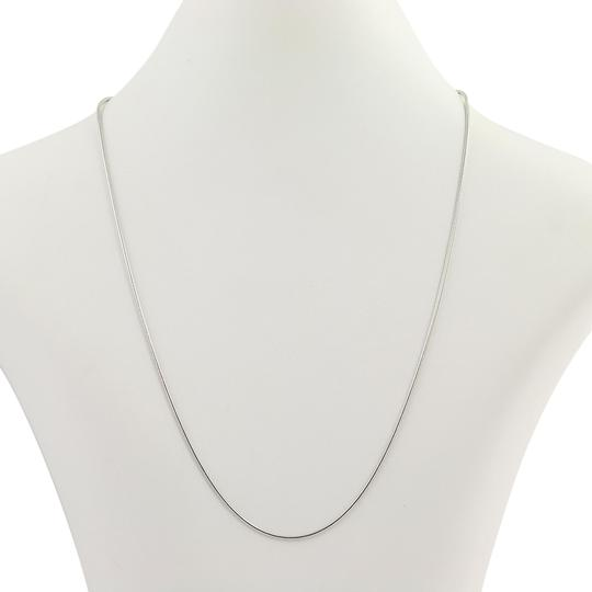 Preload https://img-static.tradesy.com/item/24188811/white-gold-new-snake-chain-18-14k-lobster-claw-clasp-n366-necklace-0-1-540-540.jpg