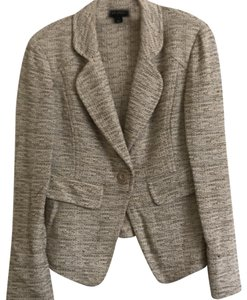 St. John multi color Black and Tan knits Blazer