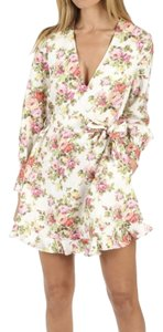 ZIMMERMANN short dress Watermelon Bouquet Floral on Tradesy