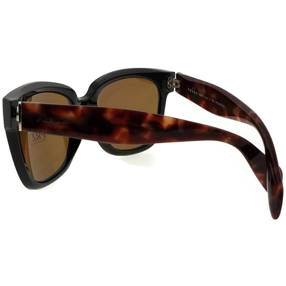 fafe5f02b48 Prada PR07PS-DHO5Y1 Square Women Brown Frame Brown Lens Polarized Sunglasses  Image 4. 12345
