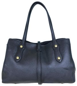 Annabel Ingall Billy Leather Satchel in Black