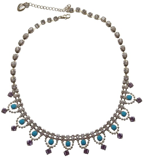 Preload https://img-static.tradesy.com/item/24189007/betsey-johnson-turquoise-new-lavender-necklace-0-1-540-540.jpg