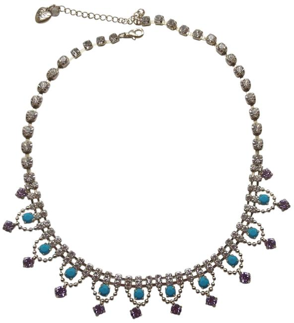 Betsey Johnson Turquoise New Lavender Necklace Betsey Johnson Turquoise New Lavender Necklace Image 1