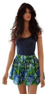 Abercrombie & Fitch by Hollister short dress Green and Blue &fitch Multi-color Navy Spring on Tradesy