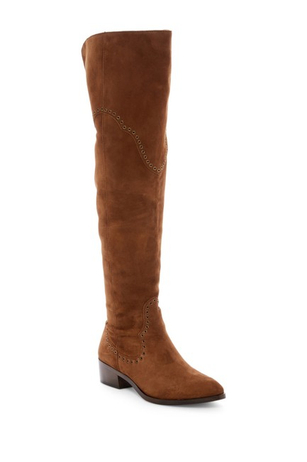 Frye Wood Ray Grommet Over-the-knee Boots/Booties Size US 6.5 Regular (M, B) Frye Wood Ray Grommet Over-the-knee Boots/Booties Size US 6.5 Regular (M, B) Image 1